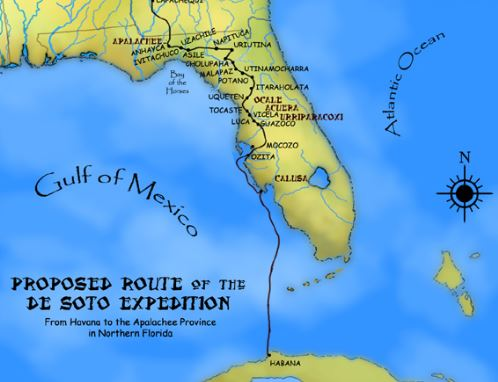 Map of Calusa. Image: Heironymous Rowe