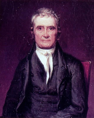 Chief Justice John Marshall established a broad interpretation of the Commerce Clause. Image: Wiki commons