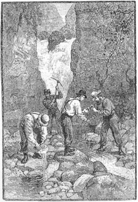 Georgia Gold Rush prospectors. Harper's New Monthly Magazine