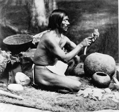 Rafael, a Chumash who shared cultural knowledge with anthropologists. Image: Leon de Cessac